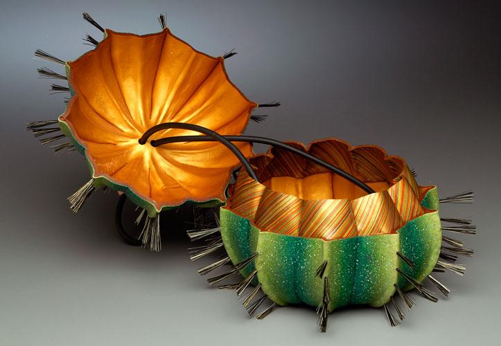 bolsa cactus aberta