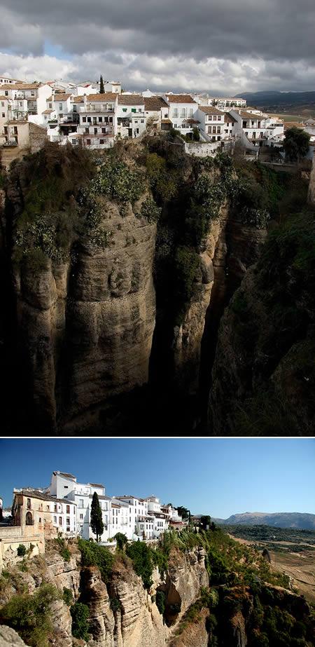 Cidade de Ronda na Espanha