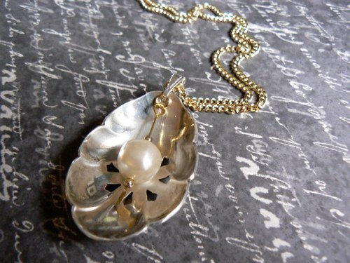 Sugar Spoon Pendant