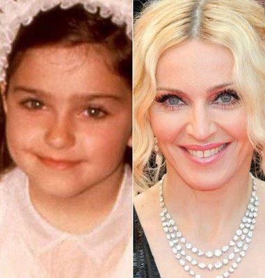 Madonna em Quando Criança