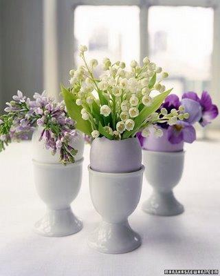 ovo vaso florido