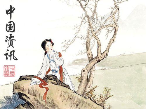 Alcova Moderna em pintura chinesa