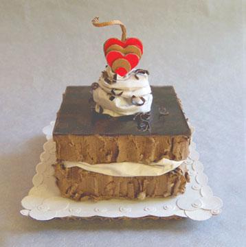Fudge-Layer-Cake-With-Cherr