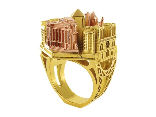 architectural ring design from philippe tournaire_02
