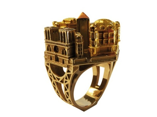 architectural ring design from philippe tournaire_03