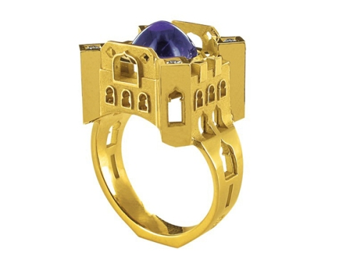 architectural ring design from philippe tournaire_11