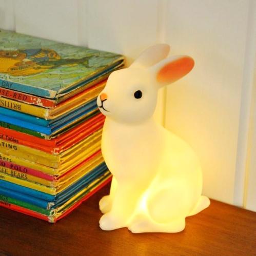 Luminaria Coelhinho Branco Lojinha A.Moderna