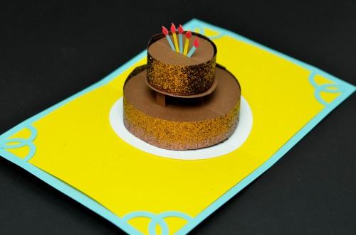 Birthday-cake-popup-card-chocolate