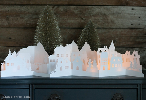 Paper_Cut_Christmas_Village