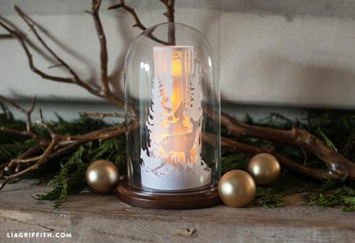 Winter_Forest_Paper_Globe